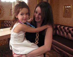 Maya_and_babysitter